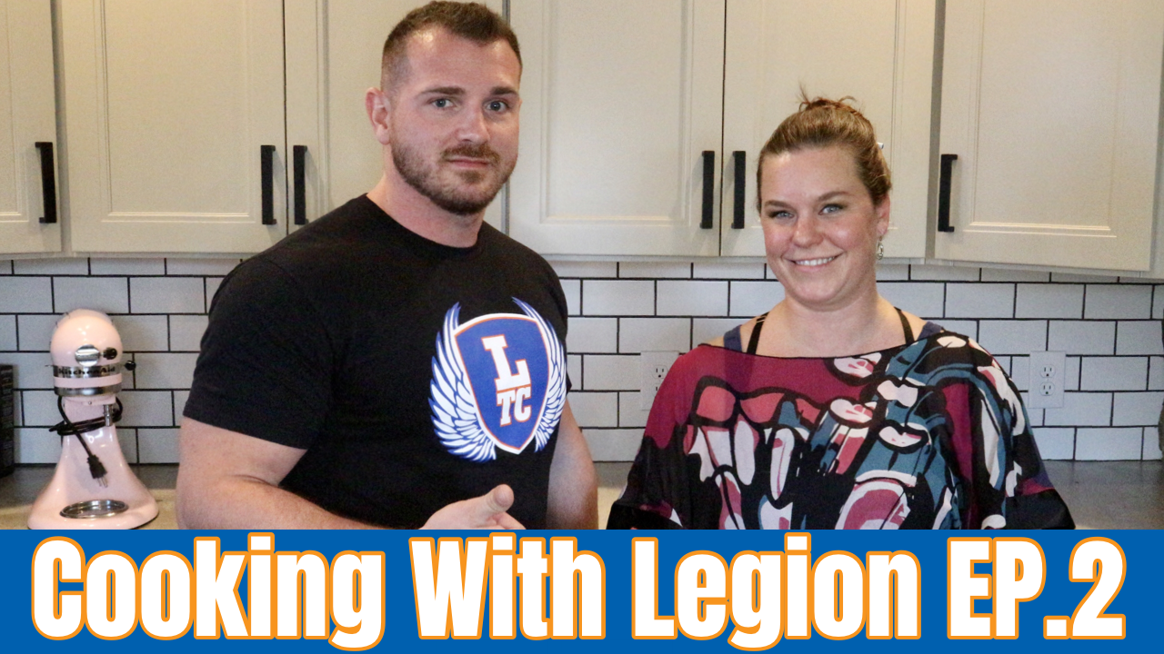Legion Transformation Center Cooking Show Episode Two.